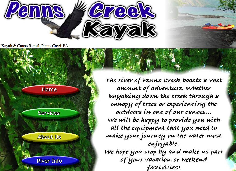 Penns Creek Kayak